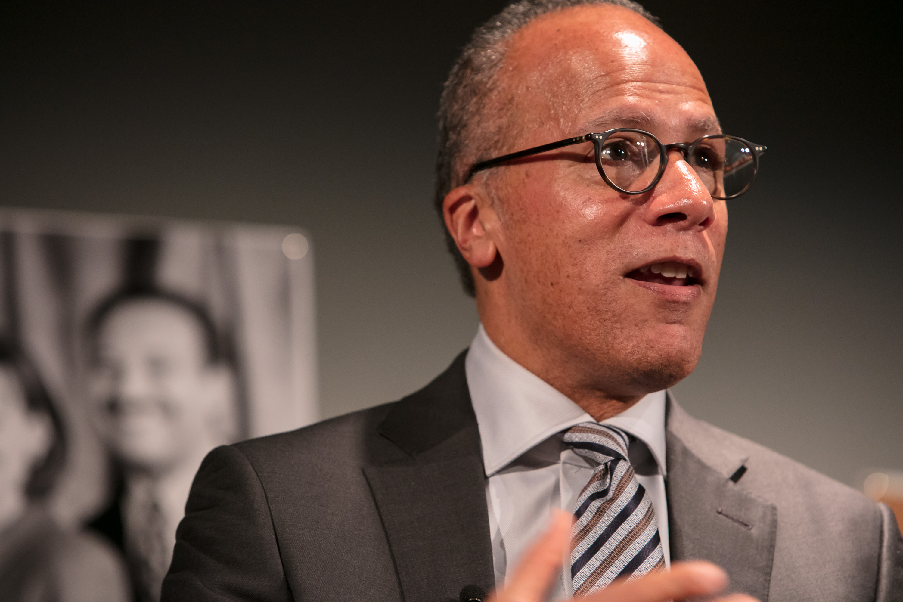 NBC Nightly News's Lester Holt