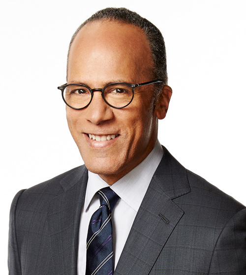 "Lester Holt, ""NBC Nightly News"""