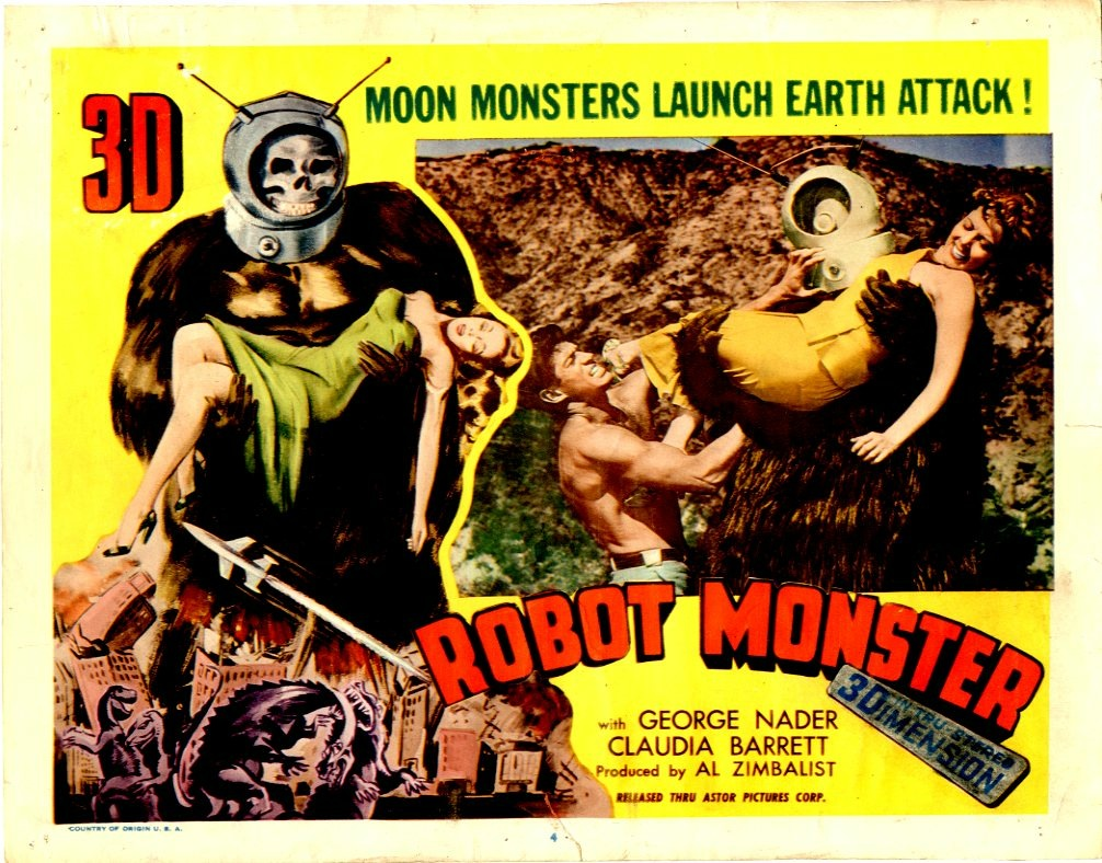 Robot Monster movie  poster