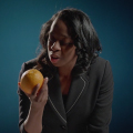"Communication Faculty Star in Humorous ""Meditations on an Orange"" Video"