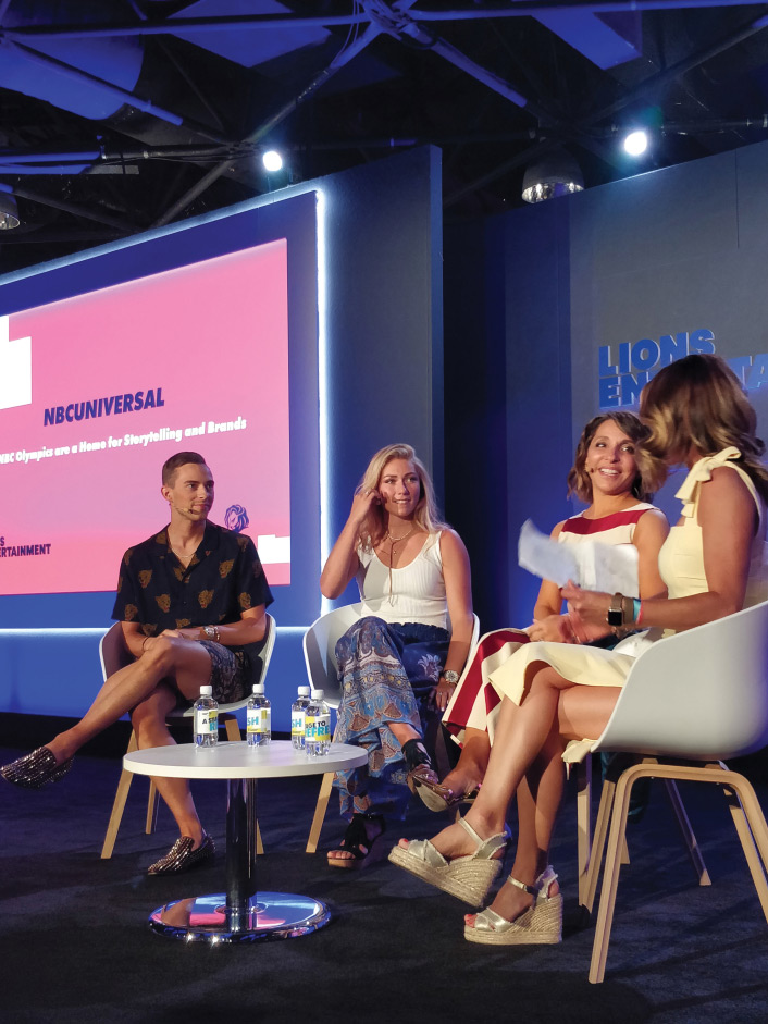 Cannes Lions panel session