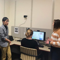 Media Engagement Lab Open House Welcomes New Student Researchers