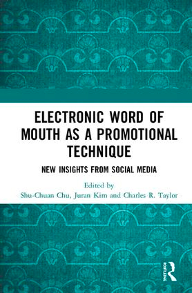 Electronic Word of Mouth as a Promotional Technique, cover